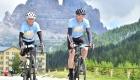 Fahrradteam Trikots im Einsatz
